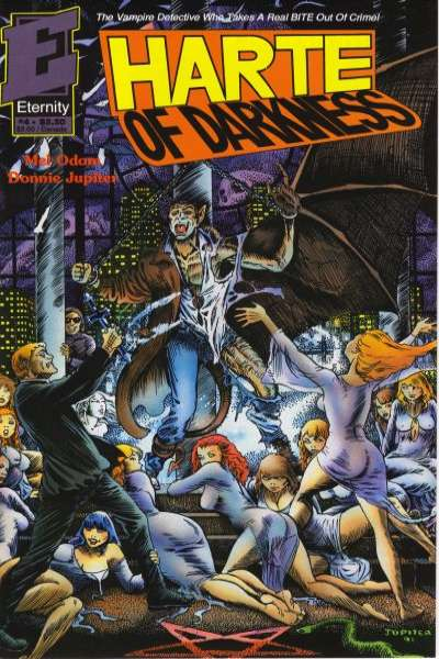 Harte of Darkness #4 comic books - cover scans photos Harte of Darkness #4 comic books - covers, picture gallery