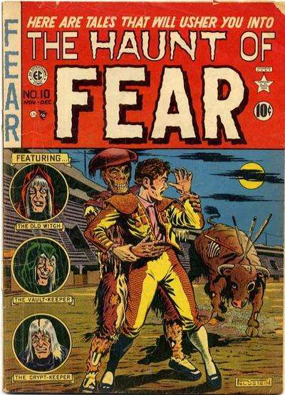 Haunt of Fear #10 Comic Books - Covers, Scans, Photos  in Haunt of Fear Comic Books - Covers, Scans, Gallery