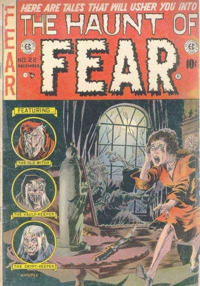 Haunt of Fear #22 Comic Books - Covers, Scans, Photos  in Haunt of Fear Comic Books - Covers, Scans, Gallery