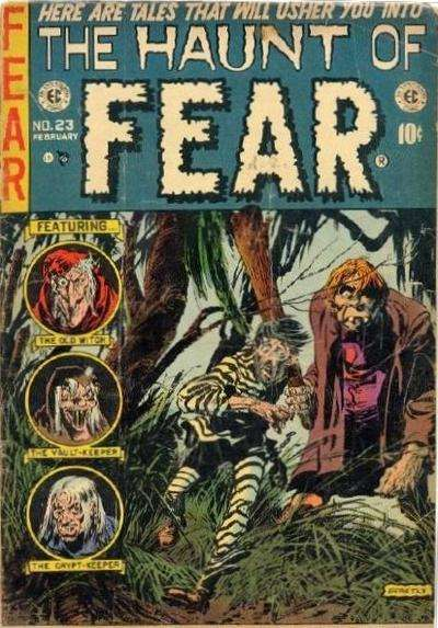Haunt of Fear #23 Comic Books - Covers, Scans, Photos  in Haunt of Fear Comic Books - Covers, Scans, Gallery