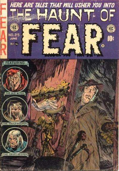 Haunt of Fear #25 comic books - cover scans photos Haunt of Fear #25 comic books - covers, picture gallery