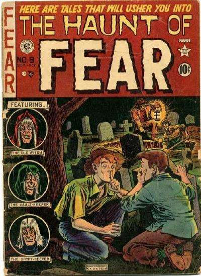 Haunt of Fear #9 comic books - cover scans photos Haunt of Fear #9 comic books - covers, picture gallery