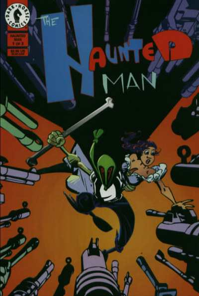 Haunted Man #1 comic books - cover scans photos Haunted Man #1 comic books - covers, picture gallery
