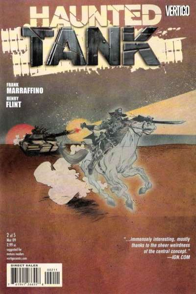 Haunted Tank #2 Comic Books - Covers, Scans, Photos  in Haunted Tank Comic Books - Covers, Scans, Gallery