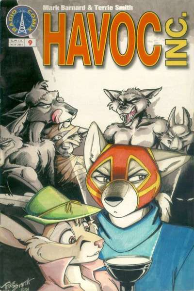 Havoc Inc. #9 comic books - cover scans photos Havoc Inc. #9 comic books - covers, picture gallery