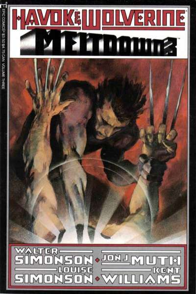 Havok & Wolverine - Meltdown #3 comic books for sale