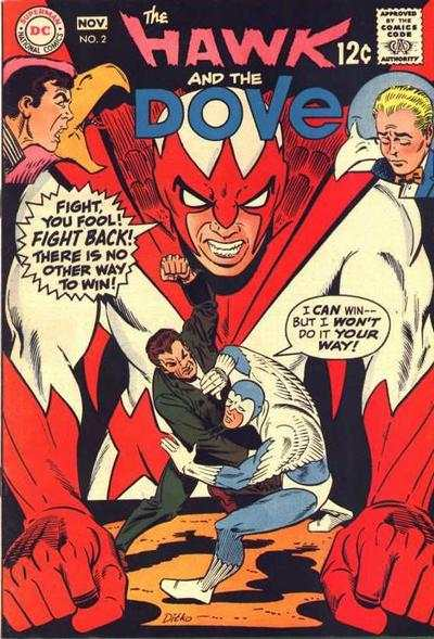 Hawk and the Dove #2 Comic Books - Covers, Scans, Photos  in Hawk and the Dove Comic Books - Covers, Scans, Gallery