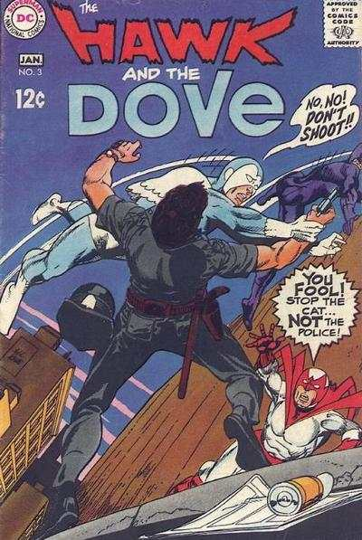 Hawk and the Dove #3 comic books - cover scans photos Hawk and the Dove #3 comic books - covers, picture gallery