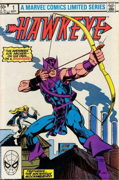 Hawkeye comic books