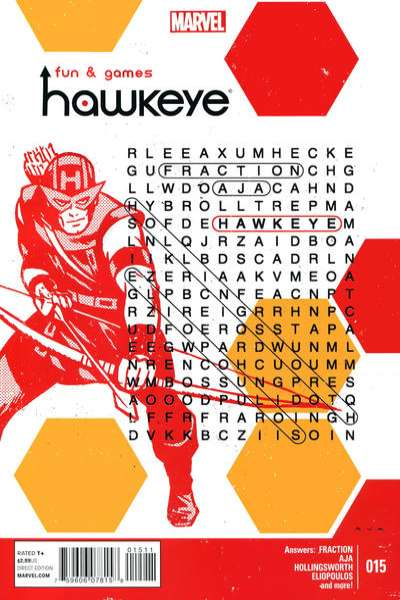 Hawkeye #15 Comic Books - Covers, Scans, Photos  in Hawkeye Comic Books - Covers, Scans, Gallery