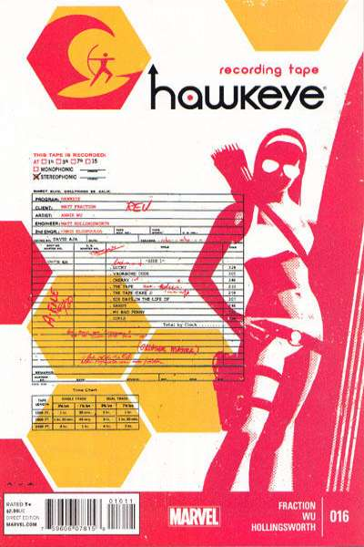 Hawkeye #16 Comic Books - Covers, Scans, Photos  in Hawkeye Comic Books - Covers, Scans, Gallery