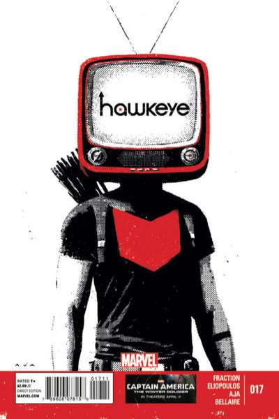 Hawkeye #17 Comic Books - Covers, Scans, Photos  in Hawkeye Comic Books - Covers, Scans, Gallery