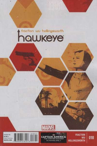 Hawkeye #18 Comic Books - Covers, Scans, Photos  in Hawkeye Comic Books - Covers, Scans, Gallery