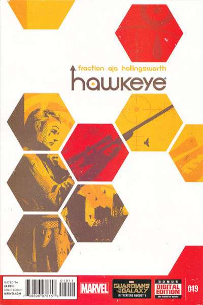 Hawkeye #19 comic books for sale