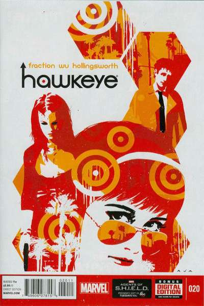 Hawkeye #20 comic books for sale
