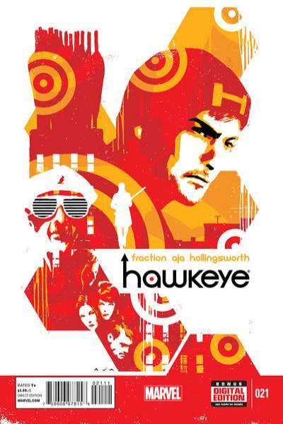 Hawkeye #21 Comic Books - Covers, Scans, Photos  in Hawkeye Comic Books - Covers, Scans, Gallery