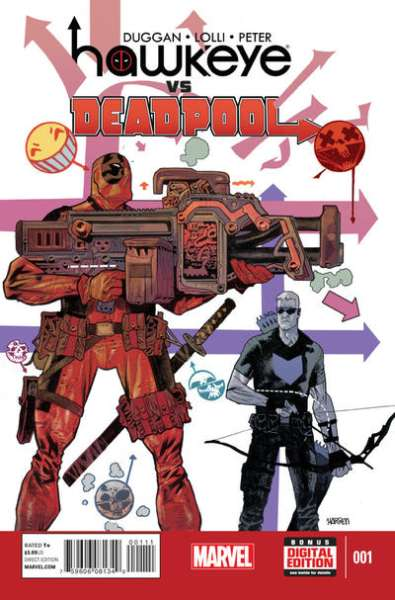 Hawkeye vs. Deadpool Comic Books. Hawkeye vs. Deadpool Comics.