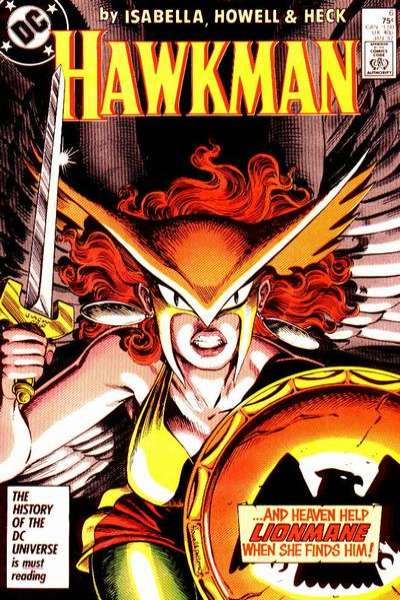 Hawkman #6 comic books for sale