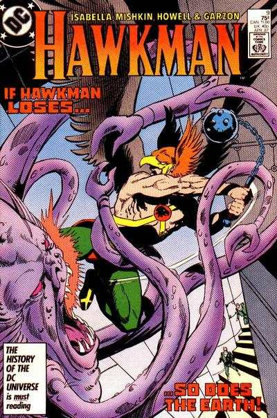 Hawkman #9 comic books for sale