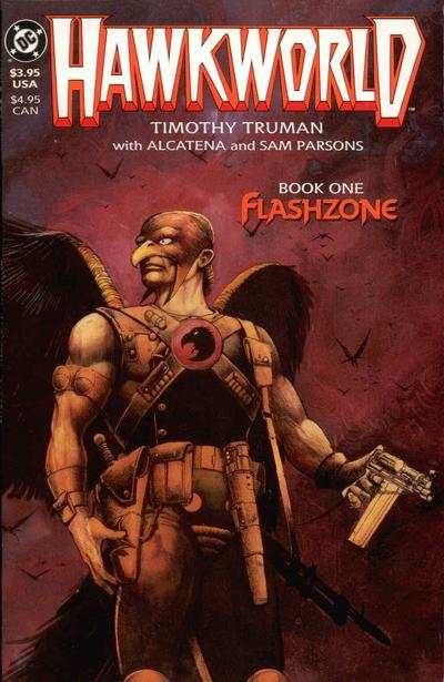 Hawkworld comic books