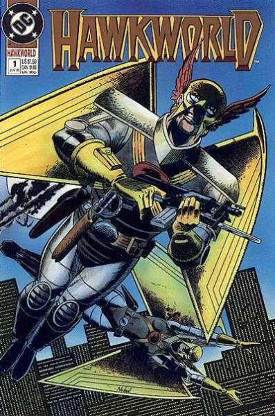 Hawkworld #1 Comic Books - Covers, Scans, Photos  in Hawkworld Comic Books - Covers, Scans, Gallery