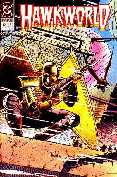 Hawkworld #12 Comic Books - Covers, Scans, Photos  in Hawkworld Comic Books - Covers, Scans, Gallery