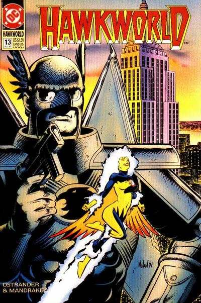 Hawkworld #13 Comic Books - Covers, Scans, Photos  in Hawkworld Comic Books - Covers, Scans, Gallery
