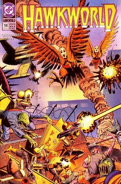 Hawkworld #14 Comic Books - Covers, Scans, Photos  in Hawkworld Comic Books - Covers, Scans, Gallery