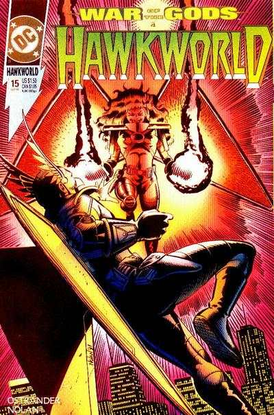 Hawkworld #15 Comic Books - Covers, Scans, Photos  in Hawkworld Comic Books - Covers, Scans, Gallery