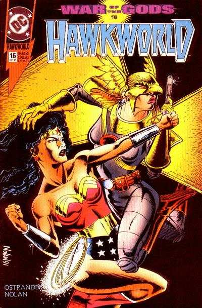 Hawkworld #16 Comic Books - Covers, Scans, Photos  in Hawkworld Comic Books - Covers, Scans, Gallery