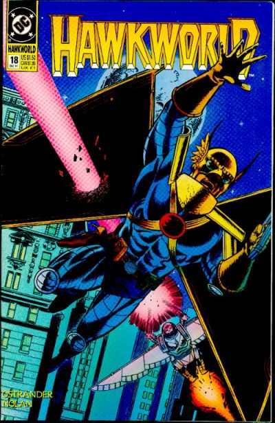 Hawkworld #18 Comic Books - Covers, Scans, Photos  in Hawkworld Comic Books - Covers, Scans, Gallery