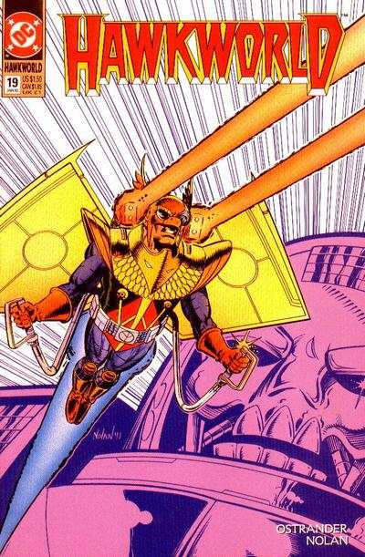 Hawkworld #19 Comic Books - Covers, Scans, Photos  in Hawkworld Comic Books - Covers, Scans, Gallery