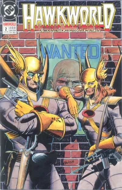 Hawkworld #2 comic books - cover scans photos Hawkworld #2 comic books - covers, picture gallery