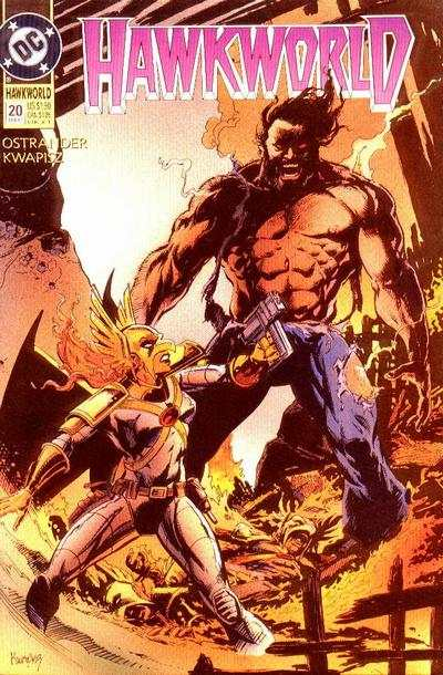 Hawkworld #20 Comic Books - Covers, Scans, Photos  in Hawkworld Comic Books - Covers, Scans, Gallery