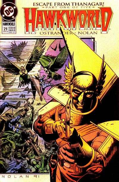 Hawkworld #21 Comic Books - Covers, Scans, Photos  in Hawkworld Comic Books - Covers, Scans, Gallery