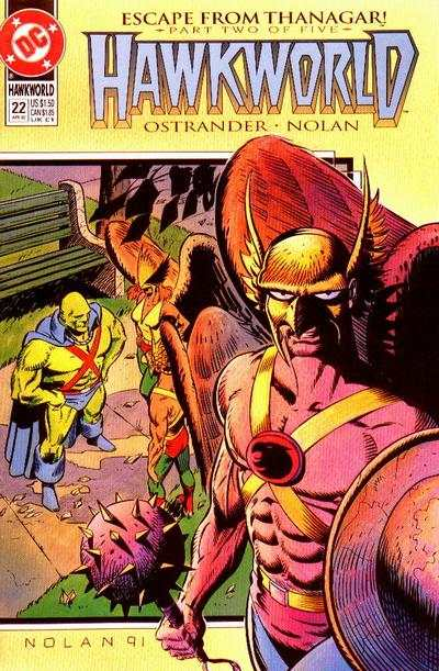Hawkworld #22 Comic Books - Covers, Scans, Photos  in Hawkworld Comic Books - Covers, Scans, Gallery