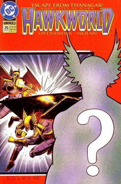 Hawkworld #25 Comic Books - Covers, Scans, Photos  in Hawkworld Comic Books - Covers, Scans, Gallery
