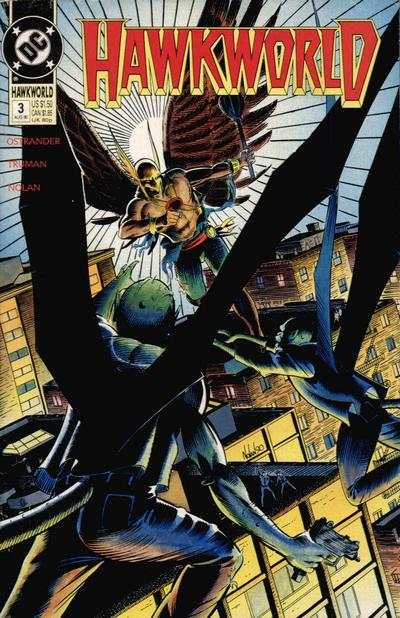 Hawkworld #3 Comic Books - Covers, Scans, Photos  in Hawkworld Comic Books - Covers, Scans, Gallery