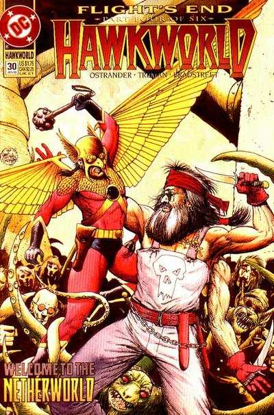 Hawkworld #30 Comic Books - Covers, Scans, Photos  in Hawkworld Comic Books - Covers, Scans, Gallery