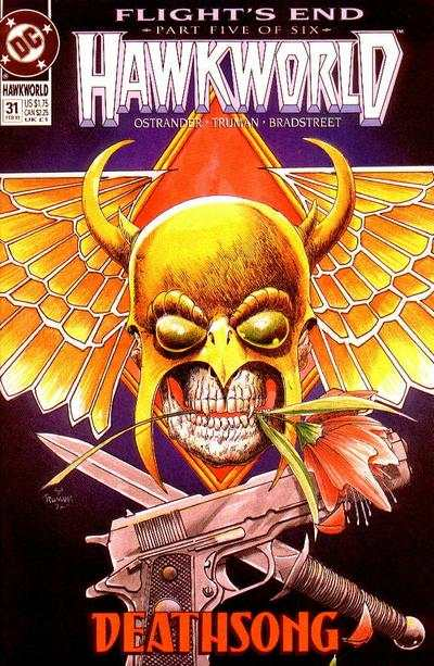Hawkworld #31 Comic Books - Covers, Scans, Photos  in Hawkworld Comic Books - Covers, Scans, Gallery