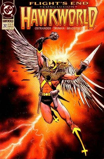 Hawkworld #32 Comic Books - Covers, Scans, Photos  in Hawkworld Comic Books - Covers, Scans, Gallery