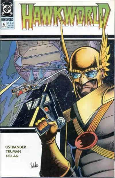 Hawkworld #6 comic books - cover scans photos Hawkworld #6 comic books - covers, picture gallery