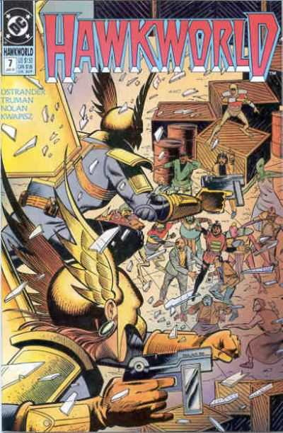 Hawkworld #7 comic books - cover scans photos Hawkworld #7 comic books - covers, picture gallery