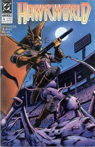 Hawkworld #9 comic books - cover scans photos Hawkworld #9 comic books - covers, picture gallery