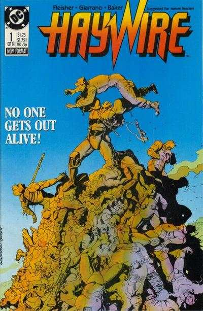 Haywire comic books