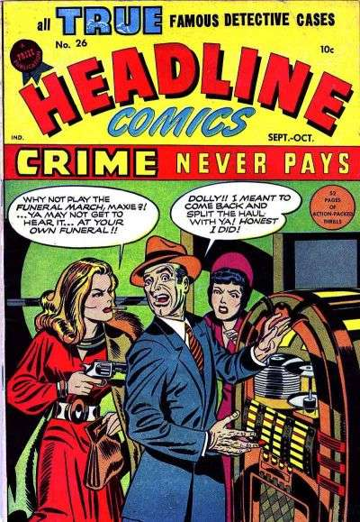 Headline Comics #26 comic books for sale