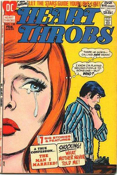 Heart Throbs #138 comic books for sale