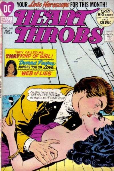 Heart Throbs #141 comic books for sale