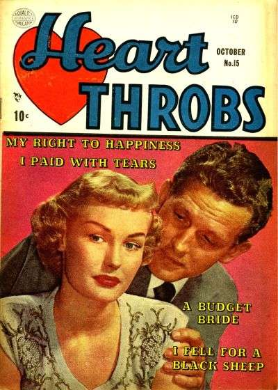 Heart Throbs #15 comic books for sale