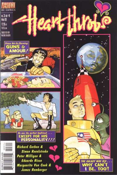 Heart Throbs #3 comic books for sale